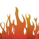 Пламя Стоковое Изображение