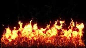 Пламя - HD, петля иллюстрация вектора