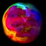 Планета газа Стоковое фото RF