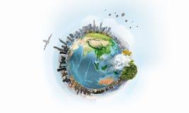 Планета мы жизнь внутри Стоковые Изображения