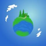 Планета долины Стоковая Фотография RF