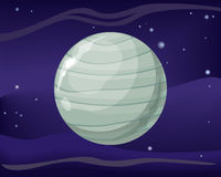 Планета Урана Система Солнця Вселенная вектор бесплатная иллюстрация