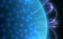 Планета цифров Стоковое Изображение