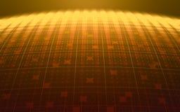 Планета цифров Стоковая Фотография