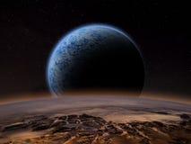 Планета чужеземца Стоковые Фото
