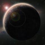 Планета чужеземца Стоковая Фотография