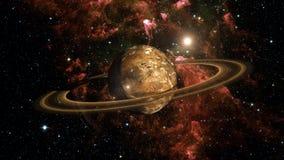 Планета Exo чужеземца Стоковые Изображения RF