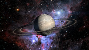 Планета Exo чужеземца Стоковая Фотография RF