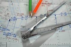 Планирование полета Стоковые Изображения RF