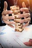 Планирование, риск и стратегия в концепции дела Стоковое фото RF