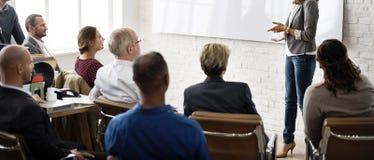 Планирование тренировки конференции уча тренируя концепцию дела Стоковое Изображение