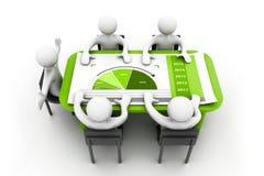 Планированиe бизнеса Стоковое Изображение RF