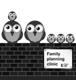 Планируемый размер семьи Стоковые Изображения RF