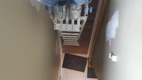 Планка и лестница Стоковое Изображение RF