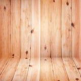 Планки больших коричневых полов деревянные текстурируют обои предпосылки Стоковые Изображения