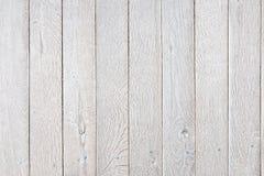 Планки помытые белизной деревянные Стоковая Фотография RF