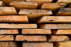 Планки текстуры деревянного блока Стоковые Фотографии RF