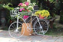 Плантатор велосипеда выставочного образца центра сада Стоковая Фотография