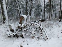 Плантатор зимы Стоковое фото RF