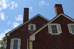 Плантация дома в Северной Каролине стоковое фото