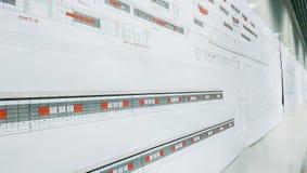 Планы и детали будущей станции метро от Favorit Стоковые Изображения