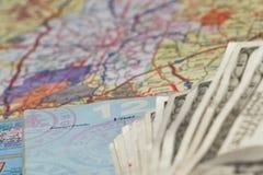Планы перемещения Стоковые Фото