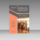 План вектора дела шаблона брошюры, годовой отчет дизайна крышки, кассета, рогулька или буклет с динамическое геометрическим Стоковое Изображение