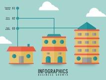 План дела infographic Стоковое Изображение RF