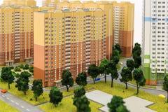 План жилых домов Стоковые Изображения RF