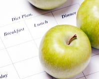 План диеты. Стоковые Фото