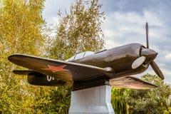 План истребительной авиации La-7 во время Второй Мировой Войны Стоковые Изображения RF
