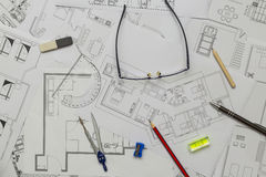 План квартиры Стоковое фото RF