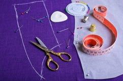 План на ткани Стоковые Изображения