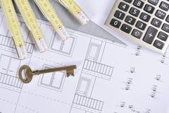 План дома стоковое изображение