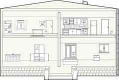 План дома Стоковое Фото