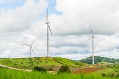 План энергии ветра Стоковое Фото