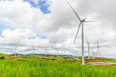 План энергии ветра Стоковое Изображение RF