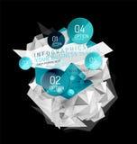 План infographics дела абстрактный триангулярный бесплатная иллюстрация
