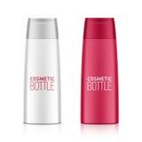 Пластичная бутылка геля шампуня или ливня Стоковое фото RF