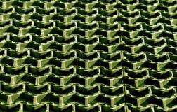 Пластичная зеленая текстура крышки пола Стоковые Фотографии RF