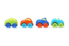 Пластичная игрушка автомобиля для детей Стоковые Фотографии RF