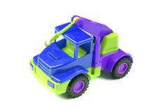 пластичная игрушка автомобиля Стоковые Фото