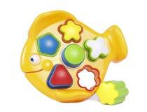 Пластичная игрушка 3 рыб Стоковая Фотография