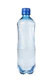 Пластичная изолированная бутылка с водой Стоковое фото RF