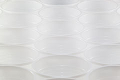 Пластичная концепция повторения чашки Стоковое фото RF