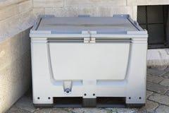 Пластичная коробка паллета Стоковые Изображения RF