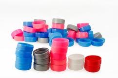 Пластичная крышка бутылки Стоковые Фотографии RF
