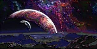 Пластичная планета Стоковое фото RF
