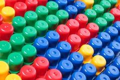 Пластичная текстура кирпичей Стоковое Фото
