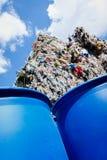 Пластичная утилизация отходов - изображение запаса Стоковое фото RF
